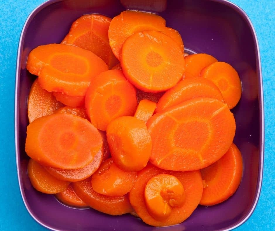 Ingredients Needed For Air Fryer Roasted Canned Carrots