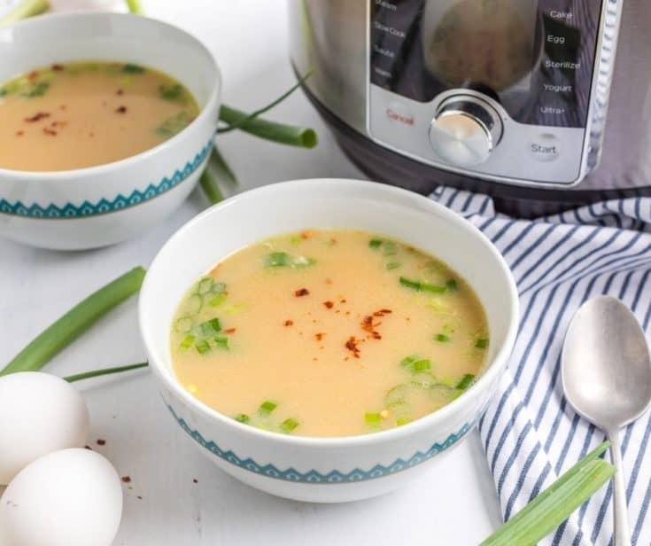 Instant Pot Egg Drop Soup