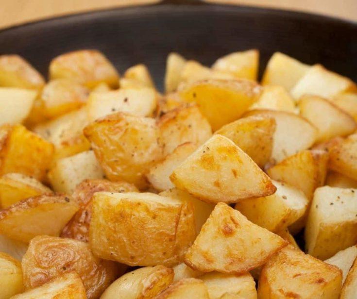 Air Fryer Bob Evan's Seasoned Potatoes Home Fries