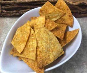 Air Fryer Homemade Doritos Chips