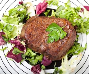 Air Fryer Bison Steak Medallions