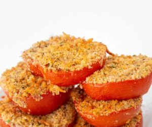 Air Fryer Parmesan Tomatoes