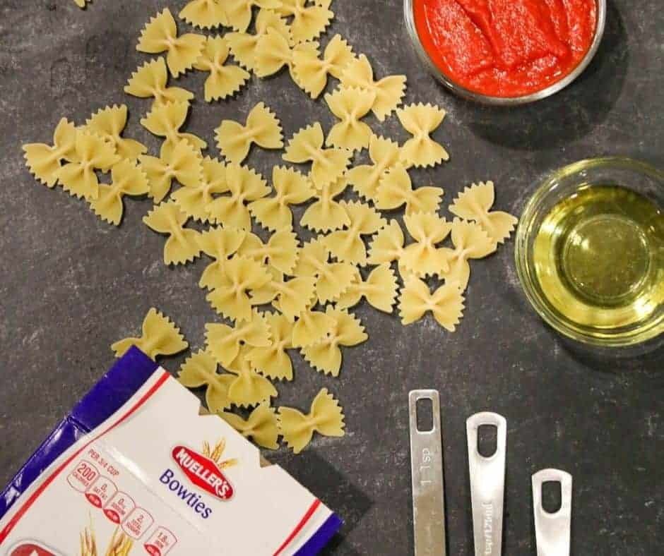 Ingredients Needed For Air Fryer Pasta Chips