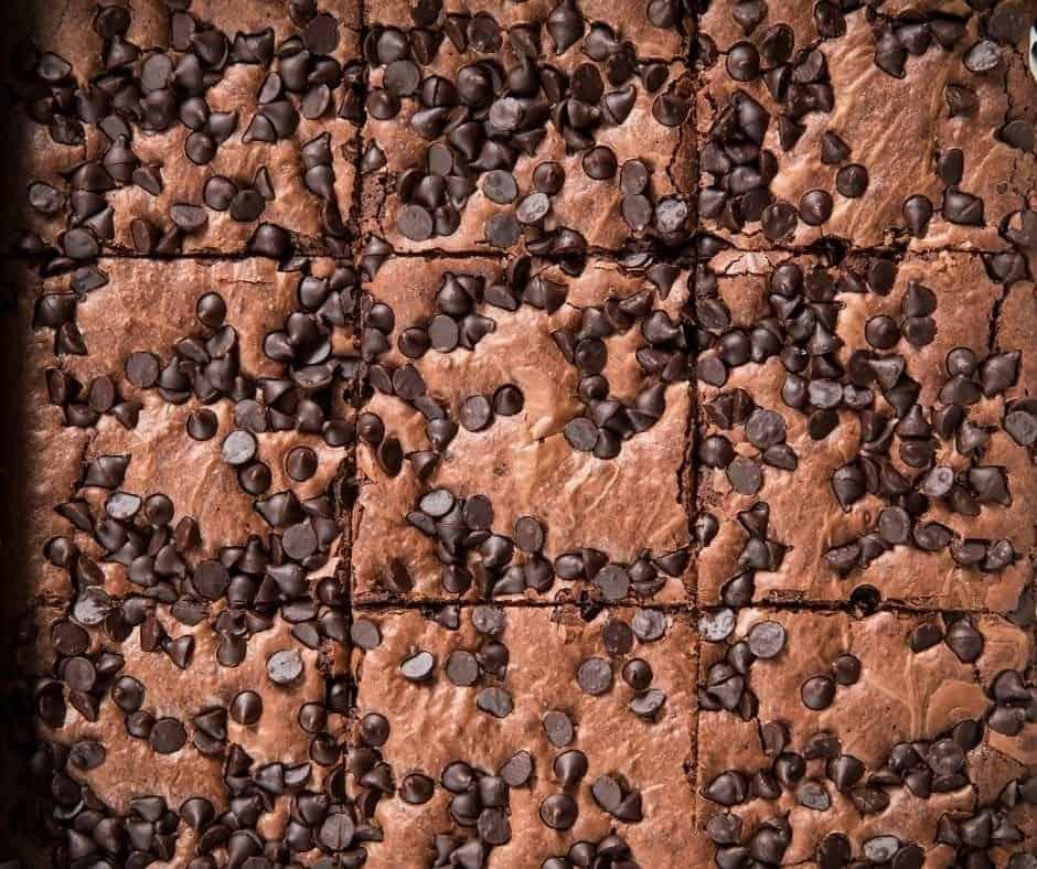 Air Fryer Chocolate Chip Cookie Brownies