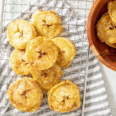 AIR FRYER PLANTAIN CHIPS chip recipe