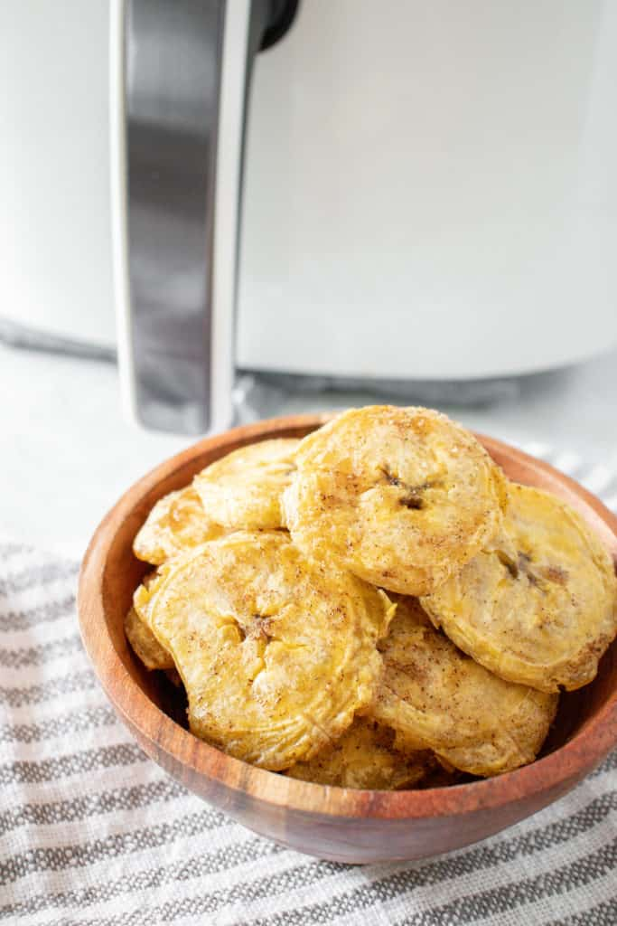 Air Fryer Plantain Chips
