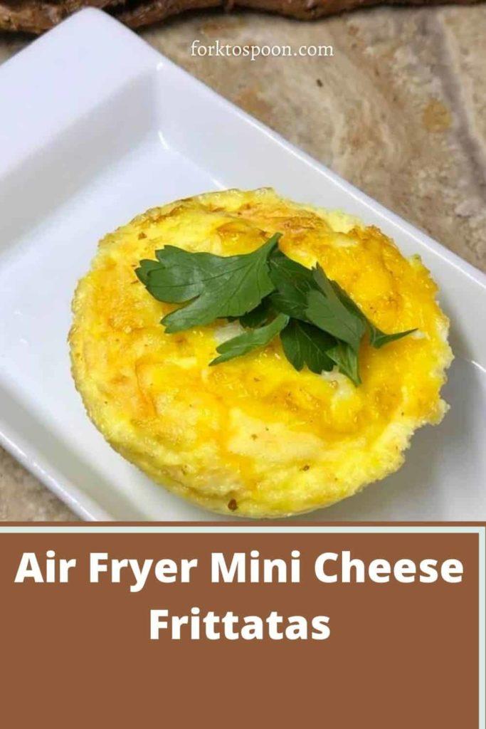 Air Fryer Mini Cheese Frittatas
