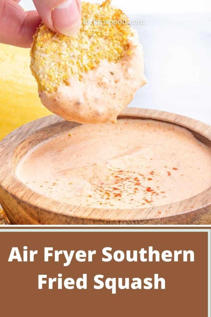 Air Fryer Southern Fried Squash