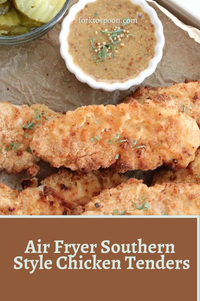 Air Fryer Southern Style Chicken Tenders
