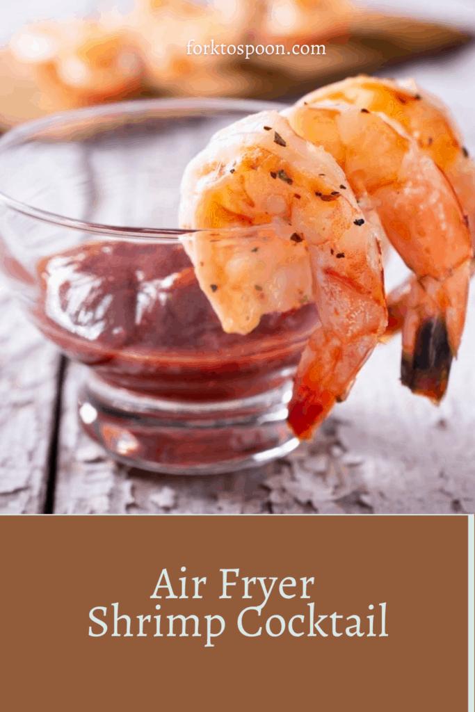 Air Fryer Shrimp Cocktail