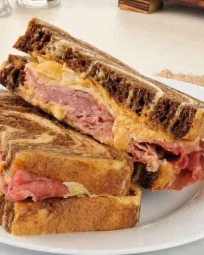 Air Fryer Reuben Sandwich