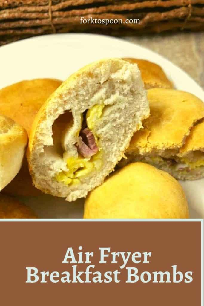 Air Fryer Breakfast Bombs