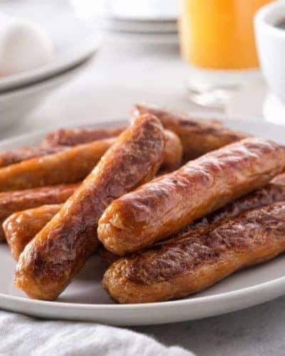 Air Fryer Breakfast Sausages