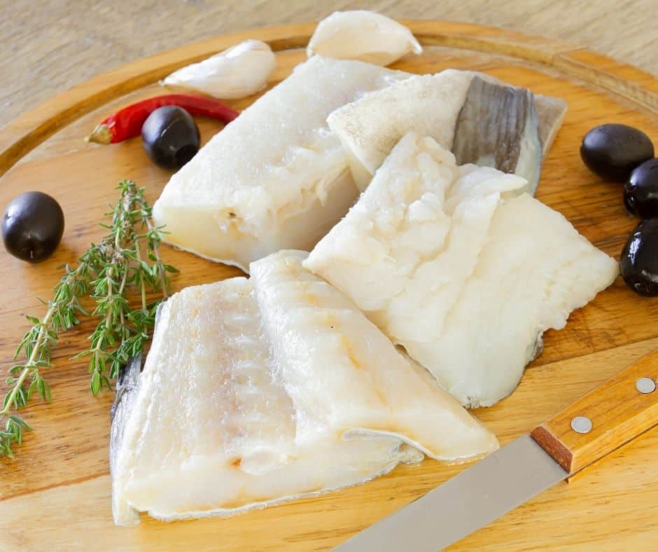 Ingredients Needed For Air Fryer Cod With Creamy Mustard Sauce