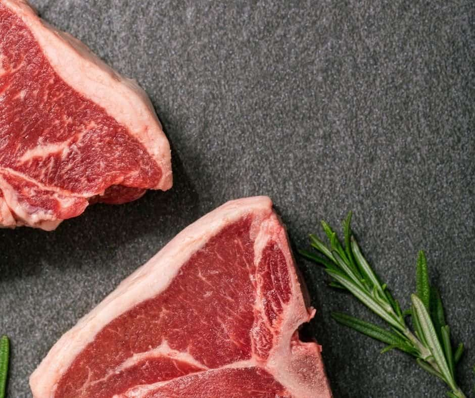 Ingredients Needed For Air Fryer Grilled Lamb Loin Chops