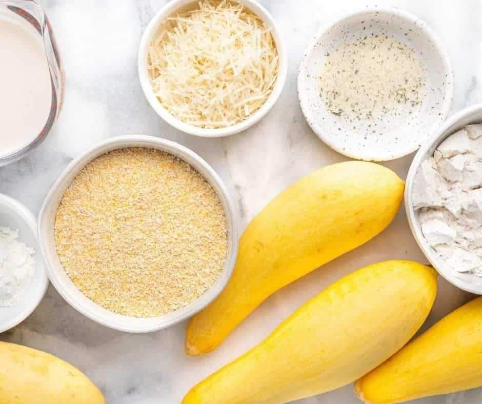 Ingredients Needed For Air Fryer Southern Fried Squash
