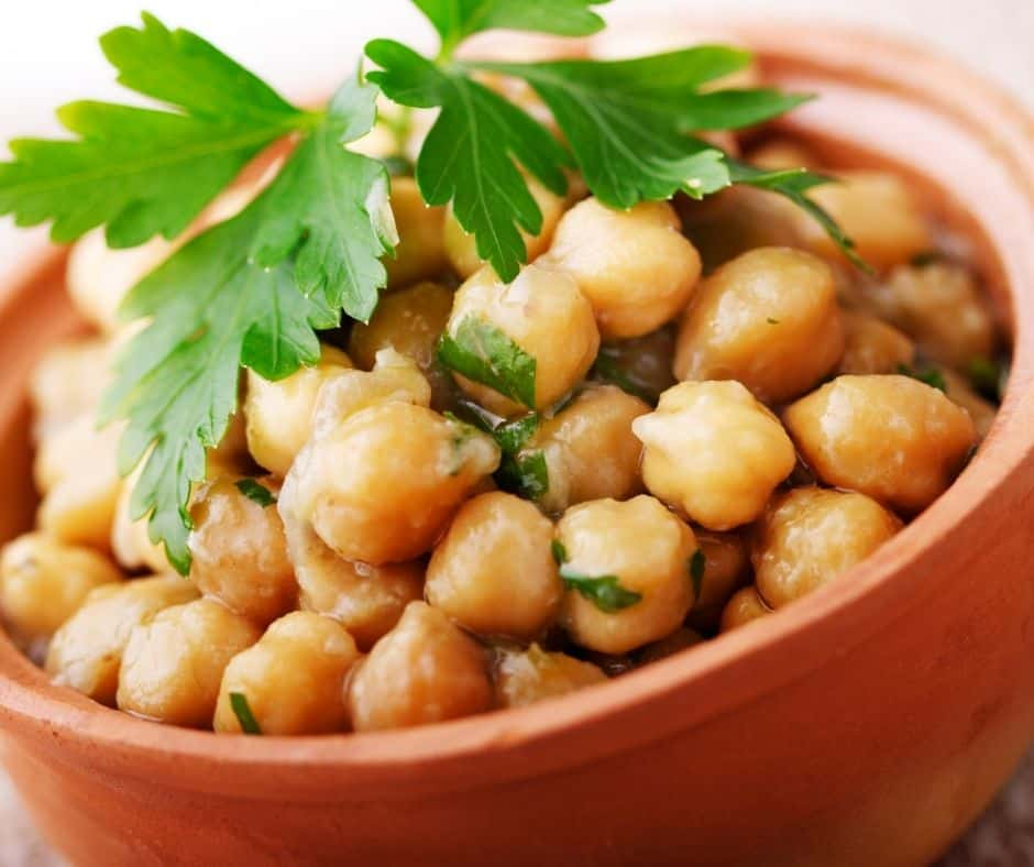 Ingredients Needed For Air Fryer Spicy Chickpeas