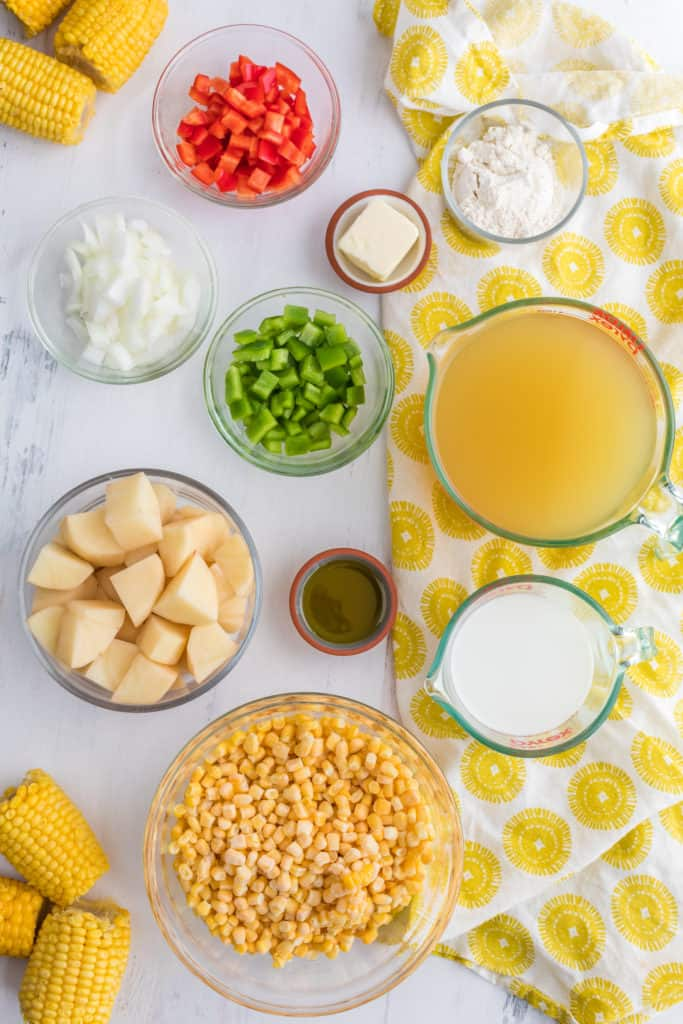 Ingredients Needed For Instant Pot Corn Chowder