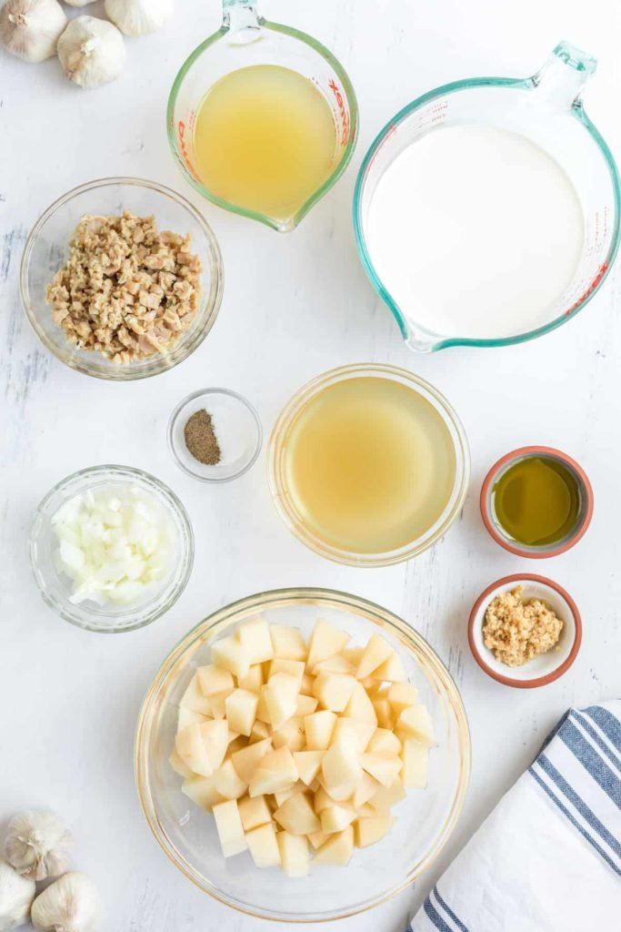 Ingredients Needed For Instant Pot New England Clam Chowder