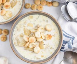 Instant Pot Easy New England Clam Chowder