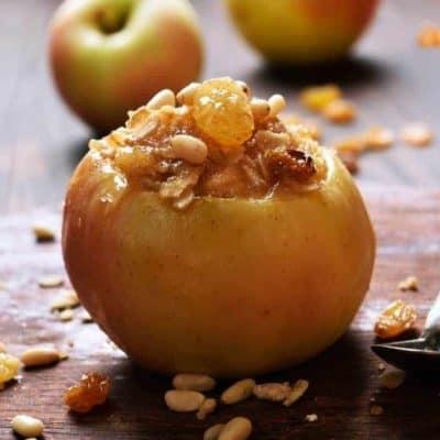 Air Fryer Baked Apples