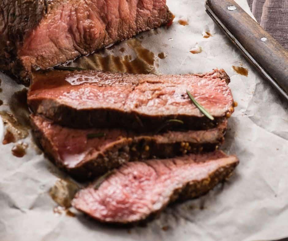 Juicy Roast Beef From Air Fryer