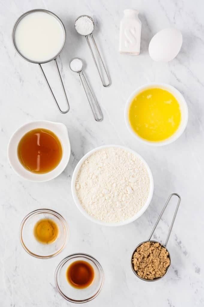 Ingredients Needed For Air Fryer Maple Frosted Donuts