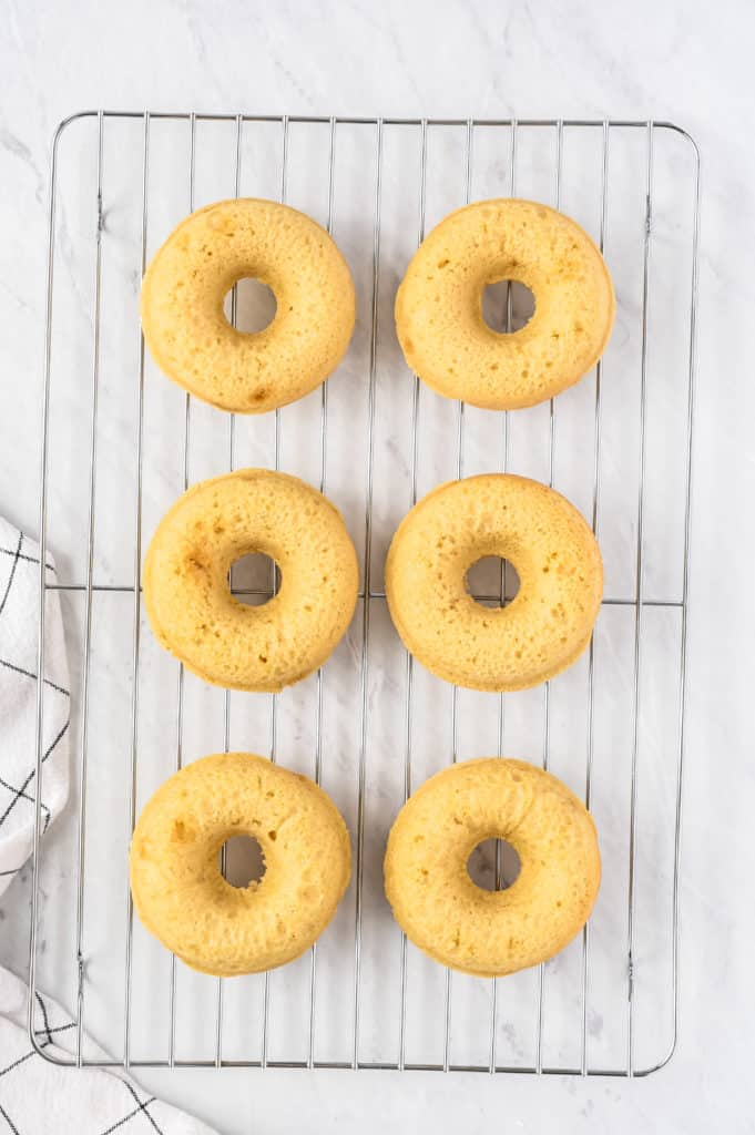 Air Fryer Maple Frosted Donuts