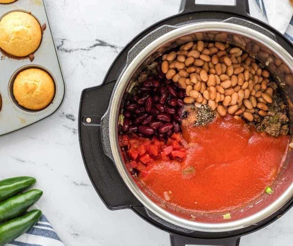 Add Beans To Instant Pot Bowl