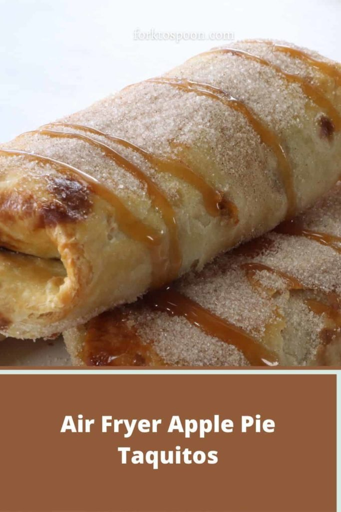 Air Fryer Apple Pie Taquitos