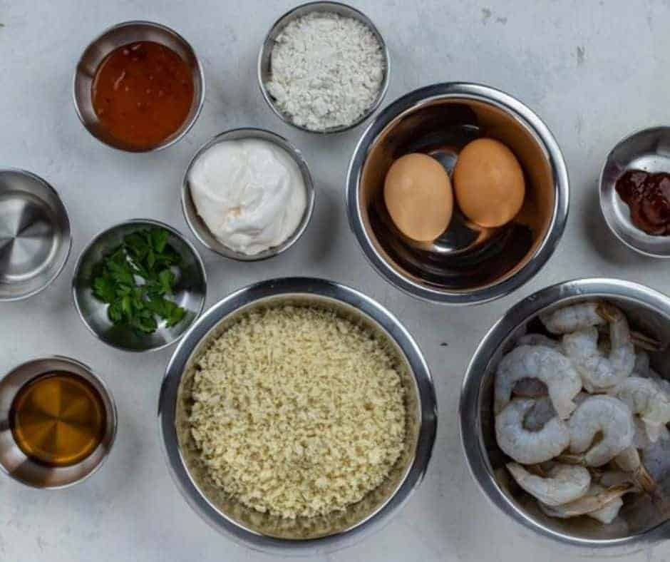 Ingredients Needed For Air Fryer Bang Bang Shrimp