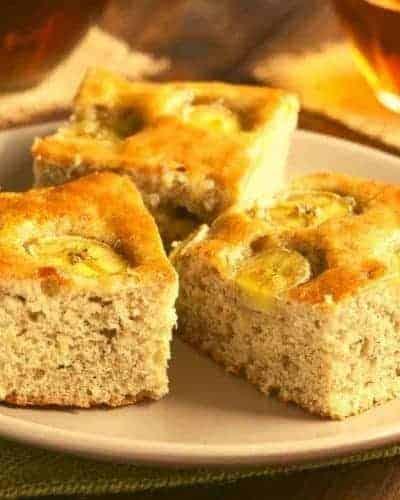 Air Fryer Banana Cake