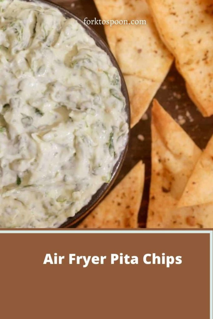 Air Fryer Pita Chips