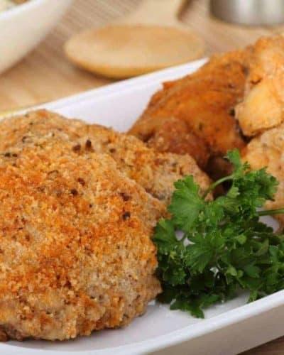 Air Fryer Crispy Honey Mustard Chicken