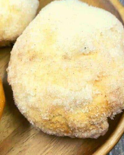 Air Fryer Easy Cinnamon Apple Biscuit Fritters