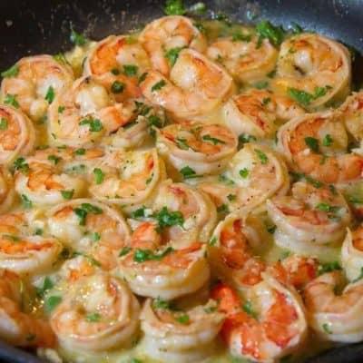 Air Fryer Garlic Butter Shrimp