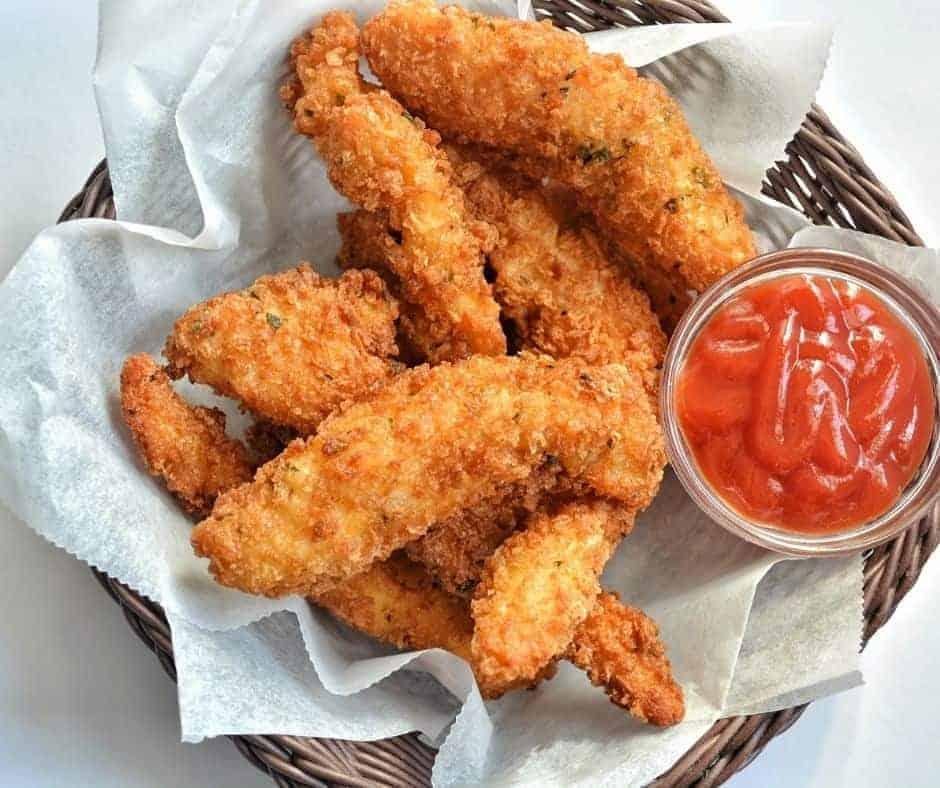 Air Fryer Classic Chicken Tenders (Tenderloins)