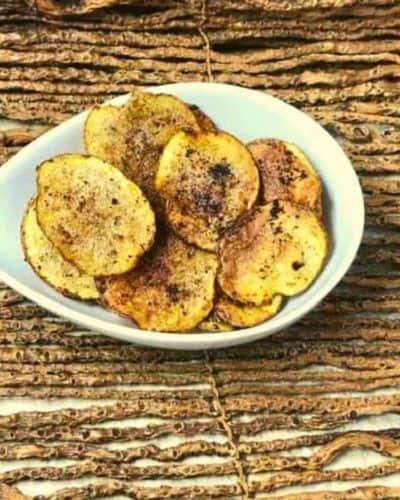 Air Fryer Homemade BBQ Potato Chips