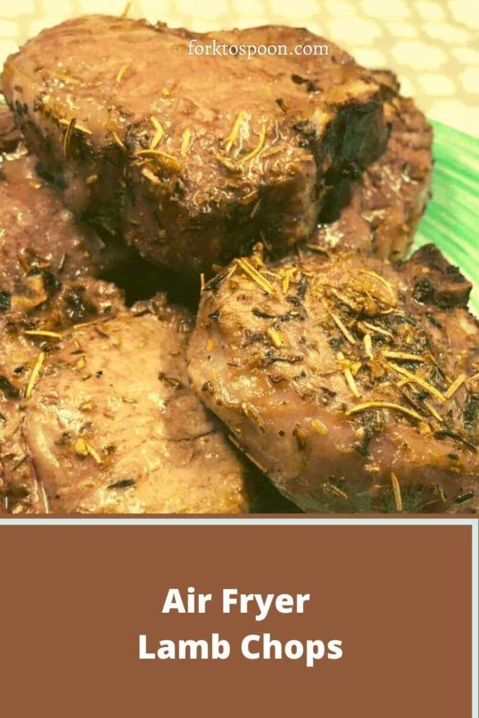 Air Fryer Lamb Chops