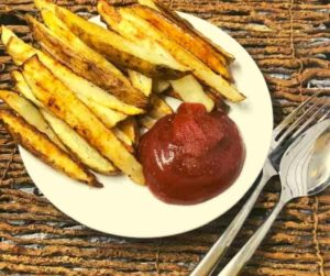 Air Fryer Spicy Oven French Fries