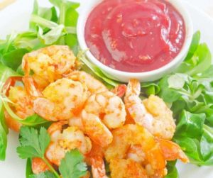 Air Fryer Sweet and Sour Shrimp