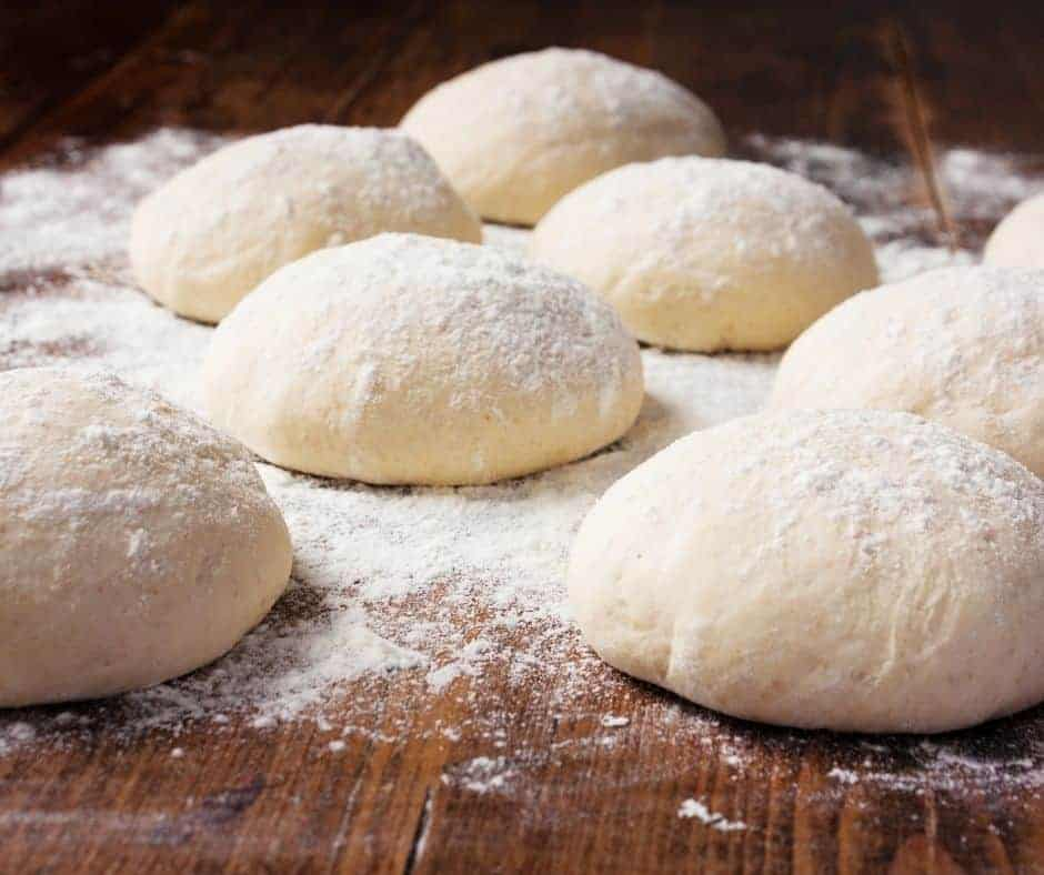 Ingredients Needed For Air Fryer Zeppole Fried Dough Balls (From Pizza Dough)