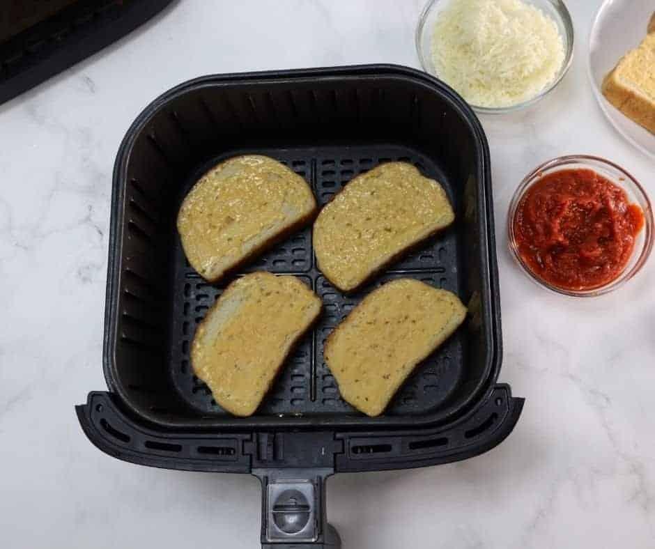 Frozen Texas Toast in Air Fryer