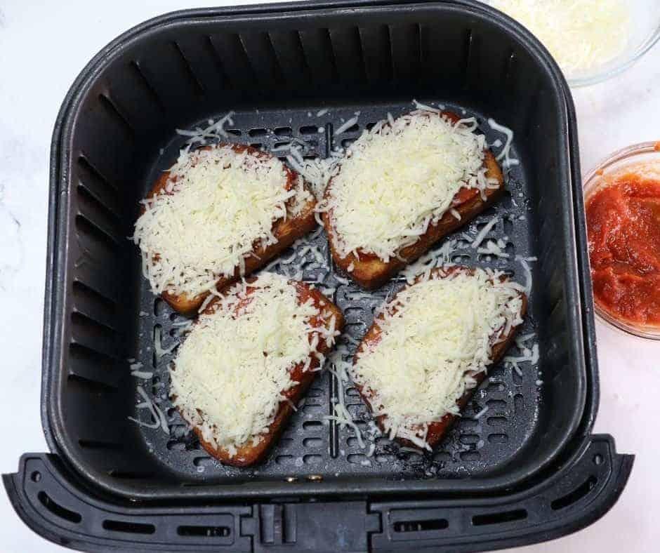 Add the Mozzarella Cheese On Top