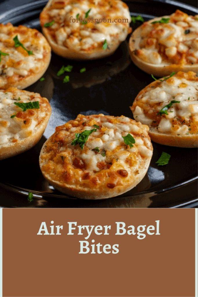 Air Fryer Bagel Bites