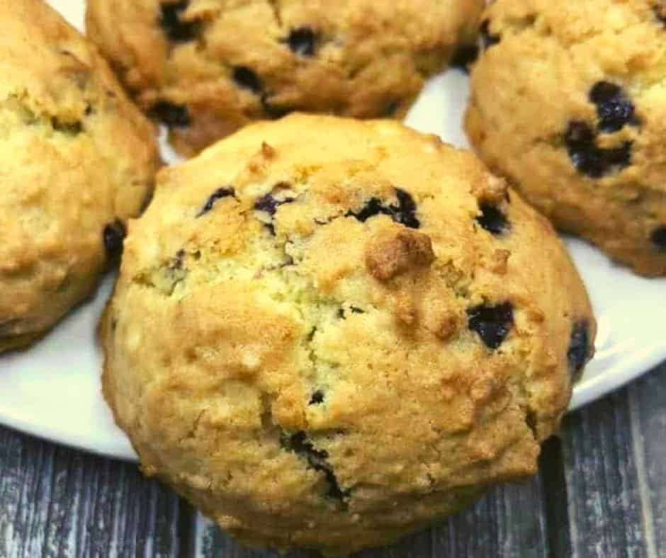 Air Fryer Blueberry Cookies
