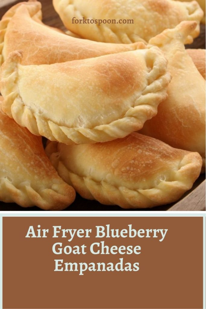Air Fryer Blueberry Goat Cheese Empanadas