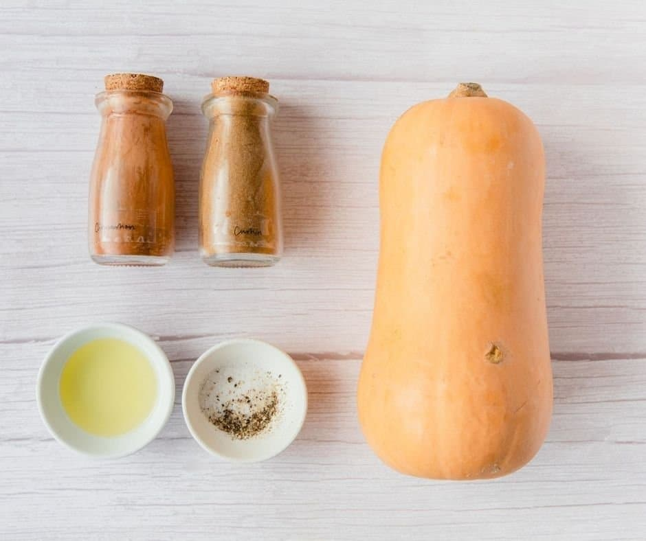 Ingredients Needed For Air Fryer Butternut Squash