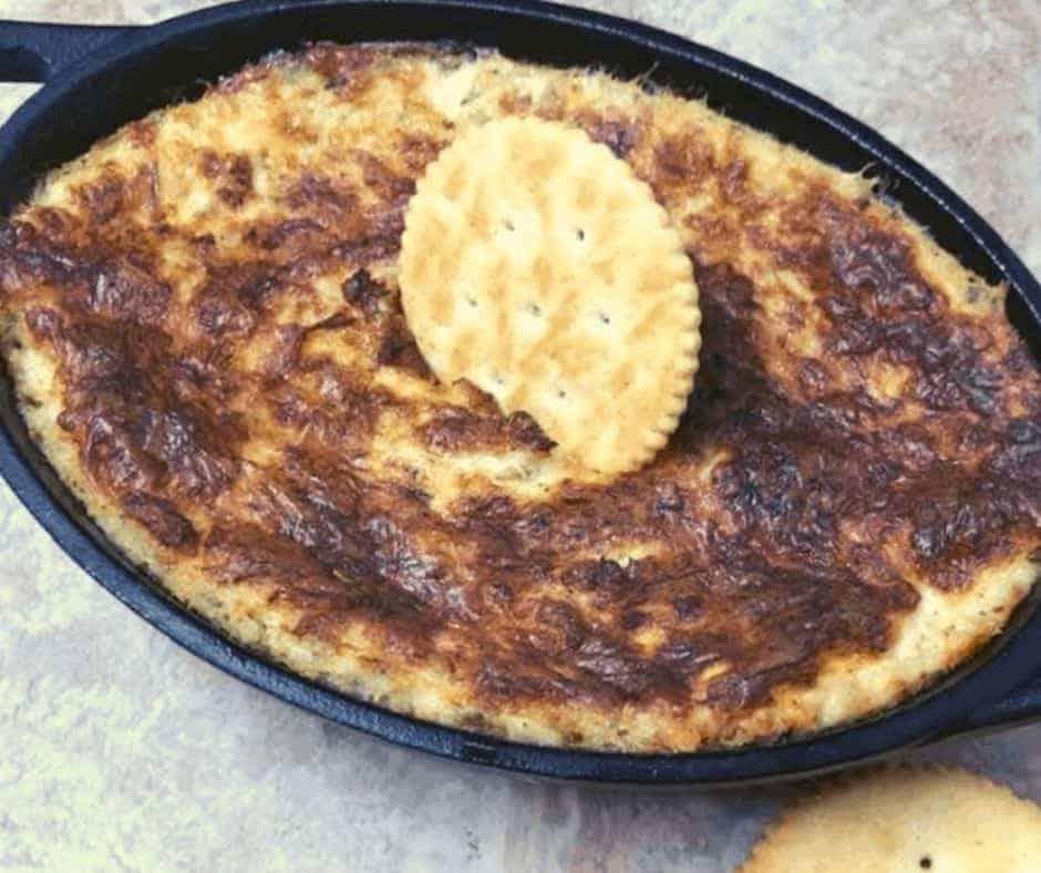 Air Fryer Cheesy Hot Crab Dip