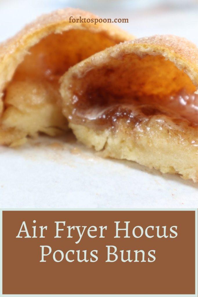 Air Fryer Hocus Pocus Buns